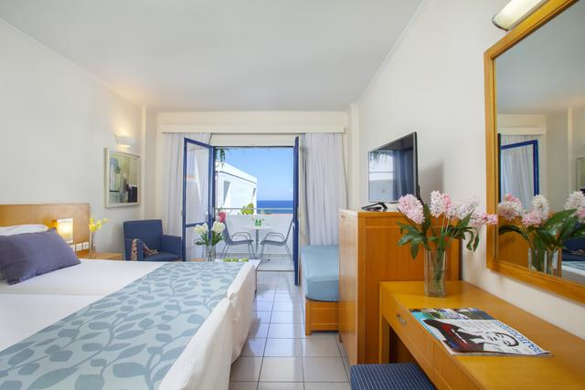 Superior vista mar hotel plagos beach grecia
